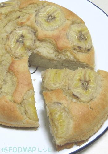 バナナケーキ(砂糖・牛乳・バター不使用)の画像